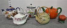 Two Bxs with Nine Teapots
