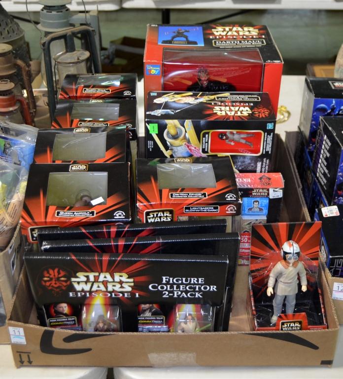 Bx Star Wars Espisode I Figures