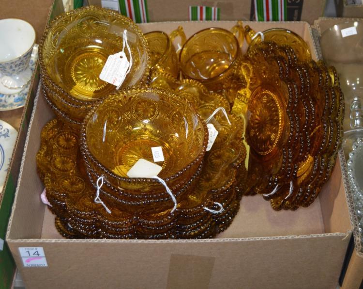 Bx Amber Glassware