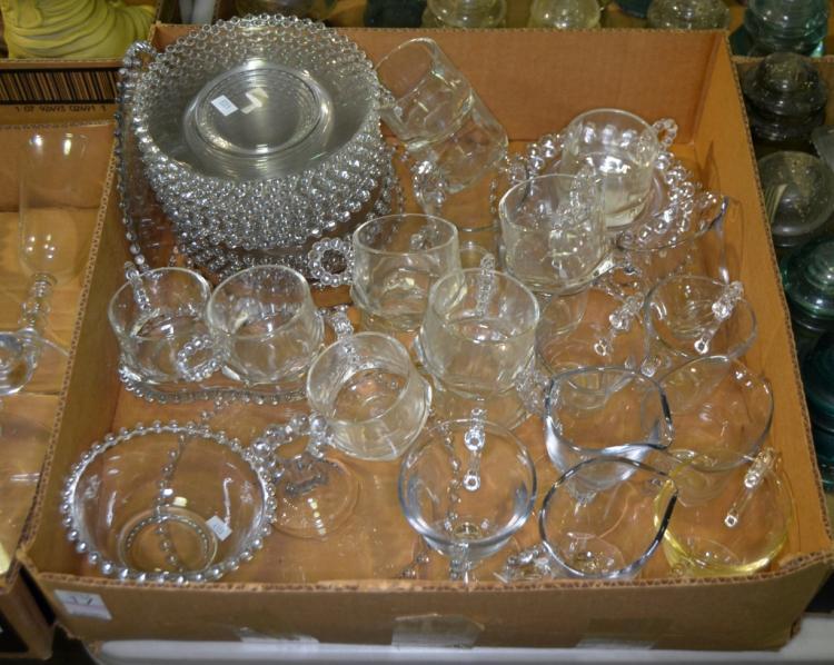 Bx Candlewick Glassware