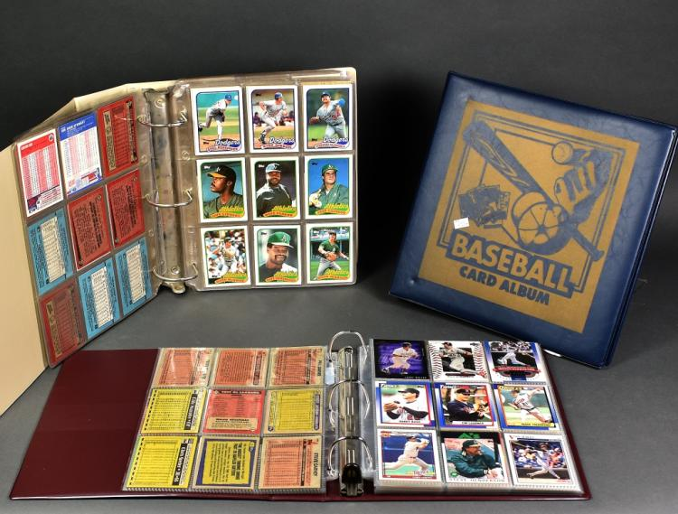3 Albums of Baseball Cards