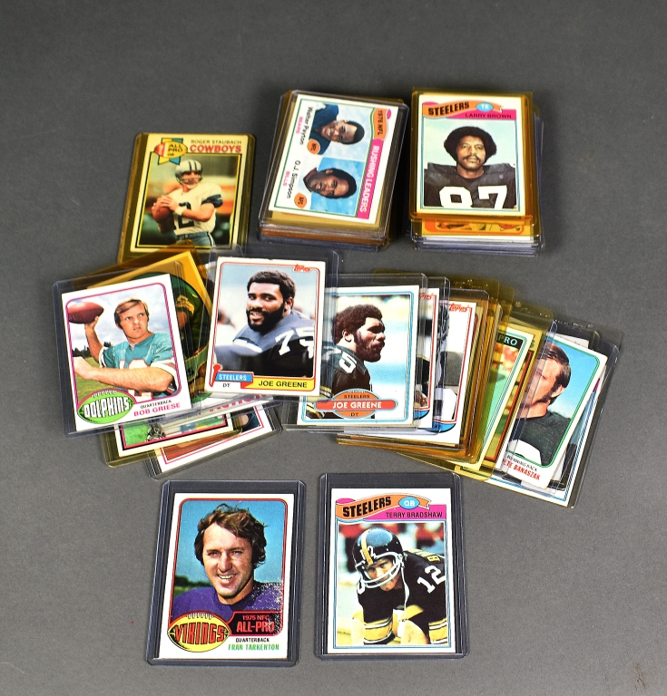 Group of 50 Football Cards