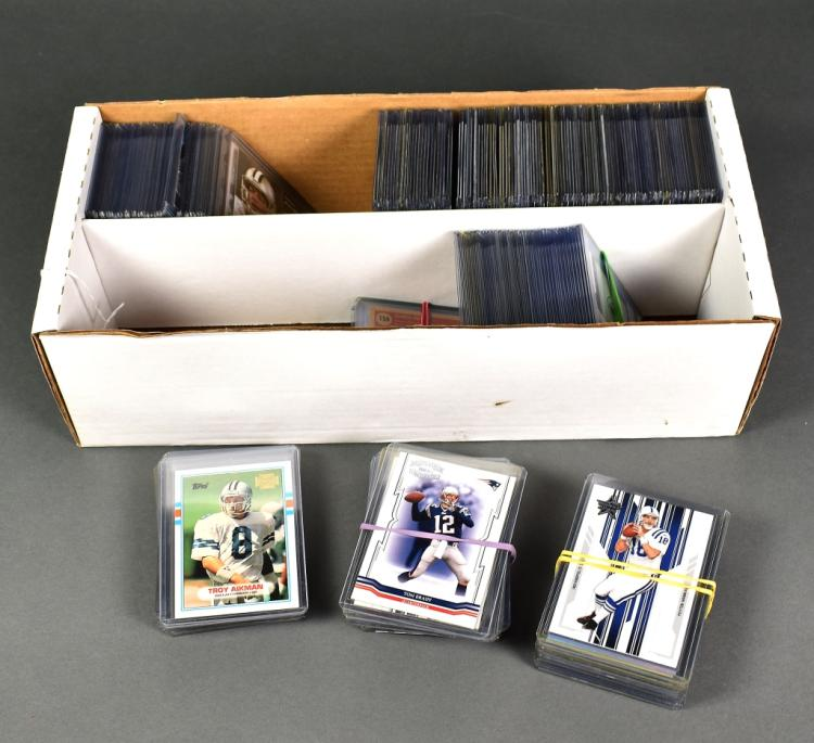 Approx. 300 Football Cards
