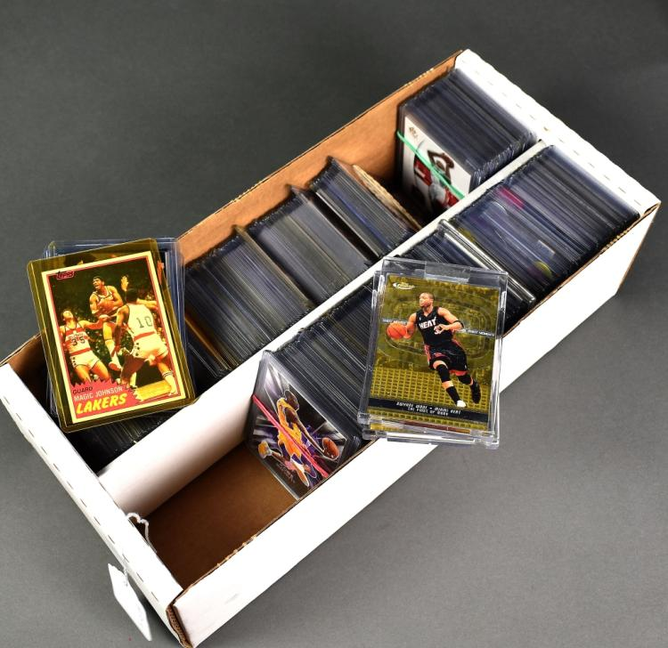 Over 400 Cards Mostly Basketball