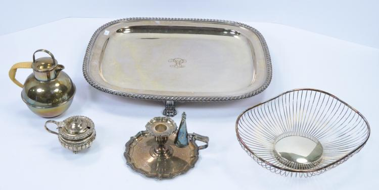 Bx Silverplate Holloware