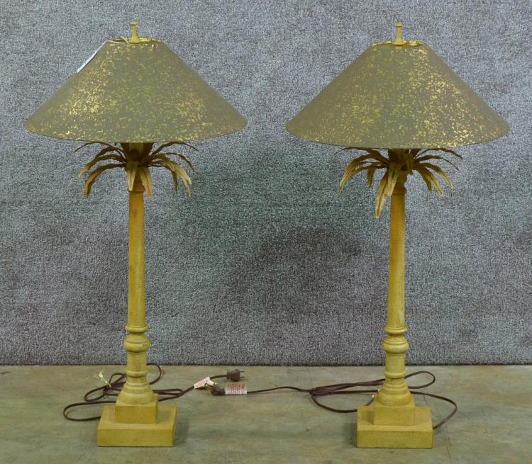 Pair of Modern Table Lamps