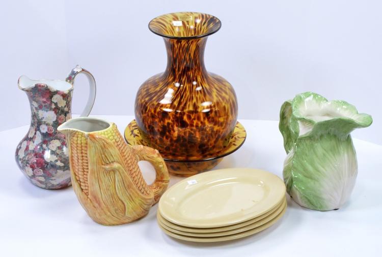 2 Bxs Glass & Ceramic Items