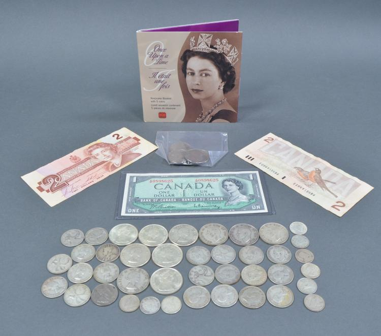 Group of Canadian Silver Coins