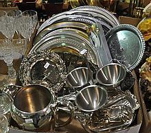 Bx Silverplate Hollowware