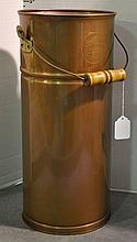 Tall Copper Bucket