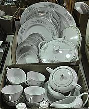 Two Bxs Porcelain Dinnerware