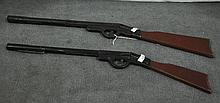 Two Pop Gun Rifles