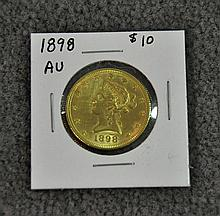 1898 Liberty $10 Gold Coin