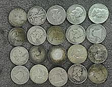 Roll (20 Coins) 90% Silver Half Dollars