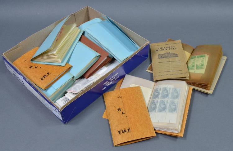 Bx Unused U.S. Postage Stamps