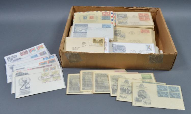 Bx U.S. & U.N. Postal Covers