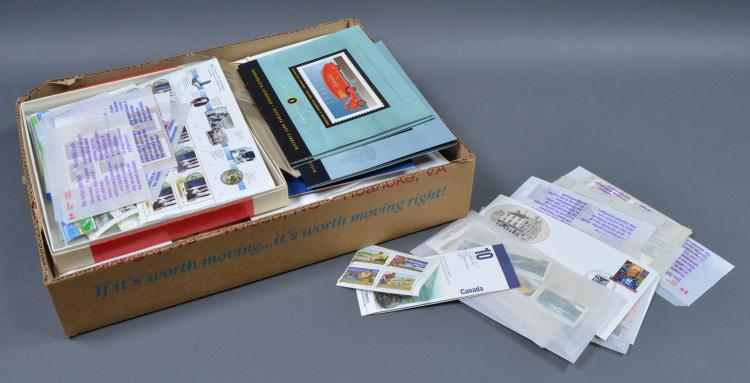 Bx Unused Canadian Postage Stamps