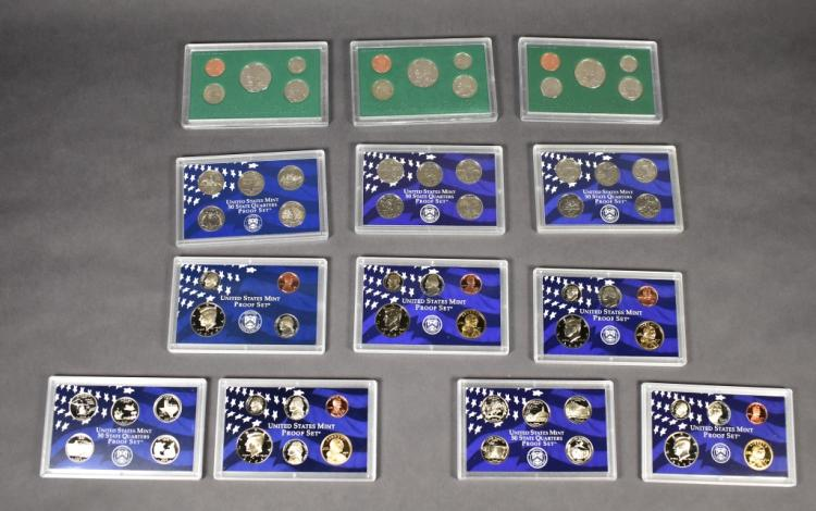 Eight Clad Proof Sets