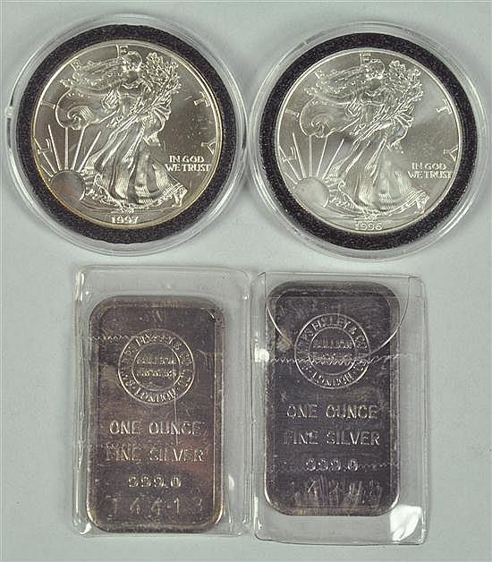 Very Scarce 1996 Silver Eagle in GEM BU Condition