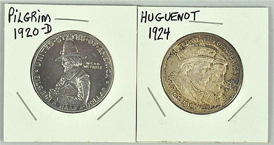 Two Silver Commemorative Coins