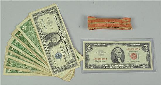 Washington Quarters, Star Note, & Silver Certificates