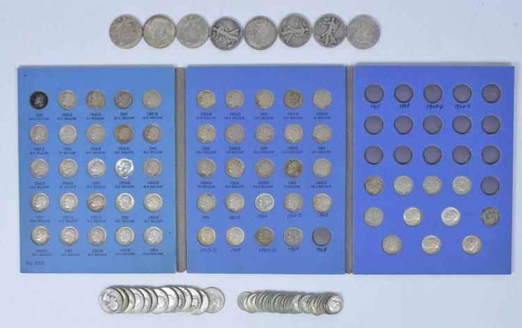 Group of 90% Silver U.S. Coins