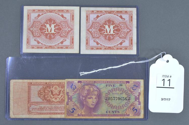 Two German Military Currencies