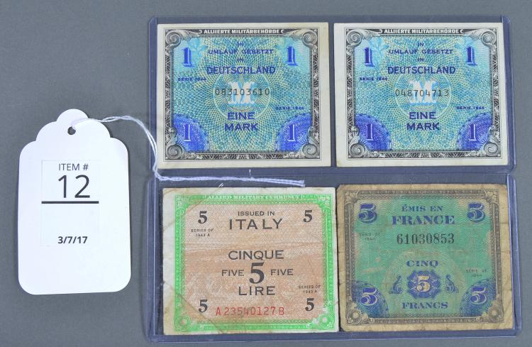 Four Military Currencies