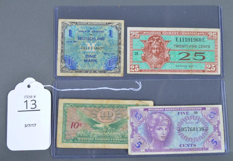 Four Military Notes