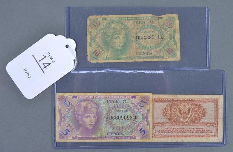 Three Military Currencies