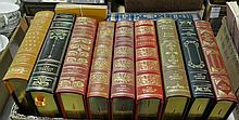 Bx 10 Franklin Library Leather Bound Books