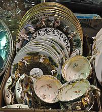 Bx 28 Pieces Capodimonte Dinnerware