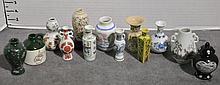 Bx 13 Miniature Porcelain Vases