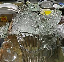 Two Bxs Pressed Glass