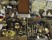 Two Bxs Decorative Brass