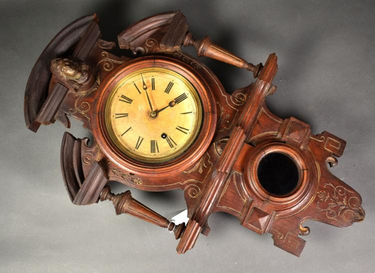 Ansonia Clock Company Wall Clock