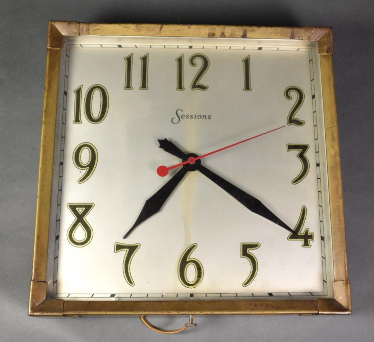 Sessions Electric Wall Clock