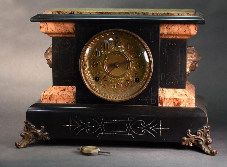 Seth Thomas Wood Case Mantel Clock