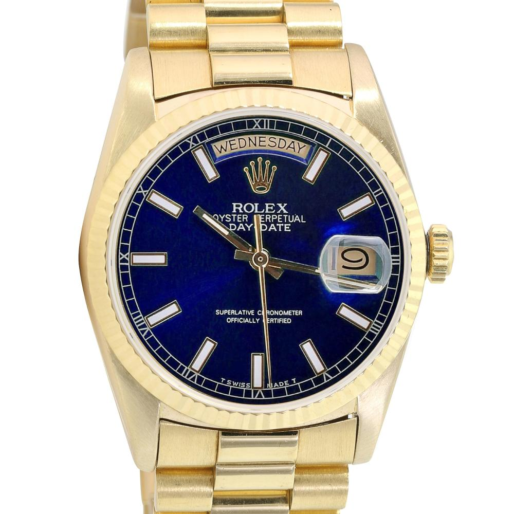 Pre-owned Rolex Day-Date 36mm Presidential Band