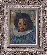 Luigi Corbellini (1901-1968) Portrait de jeune garçon