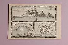 Nicolas de Fer (1647-1720) Le Cap de Bonne Espérance 1705