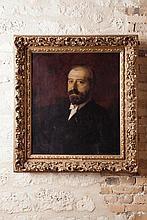 Charles GIRON (1850-1914)  Autoportrait  1889  Huile sur toile