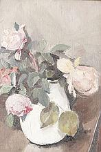 Emile Bressler (1886-1966) Nature morte aux pivoines