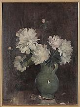 Emile Bressler (1886-1966) Bouquet de pivoine
