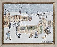 Jacques Hara (né en 1933) Temps de neige