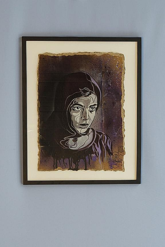 C215 (né en 1973) Marocco Valed Girl