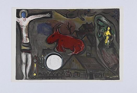 Marc chagall 1887 1985 derri re le miroir n 27 28 for Marc chagall derriere le miroir