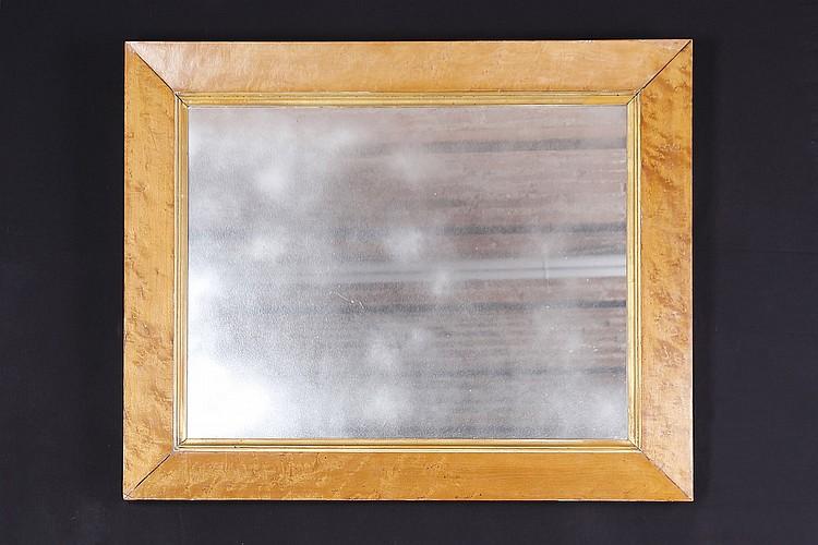 Miroir rectangulaire encadr for Miroir encadre