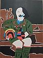 Eduardo Arroyo, Il pittore di Monaco, 1969