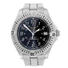 BREITLING - a mid-size stainless steel Colt Ocean bracelet watch.